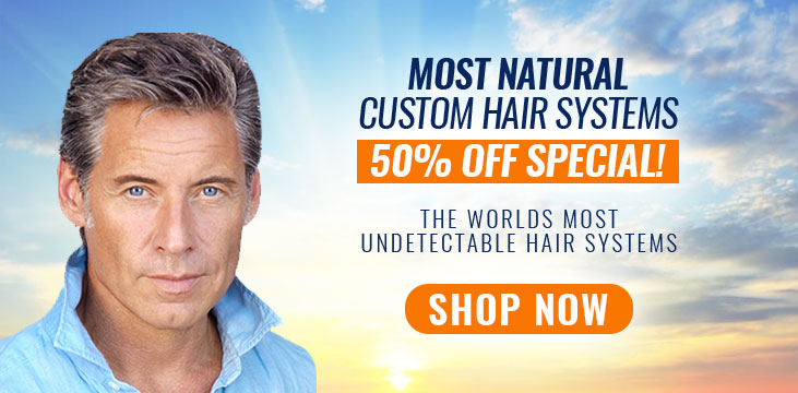 Hair Pieces For Men|Toupee|Hair Systems|Mens Hairpiece Sale